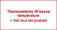 Thermomètres IR basse température